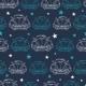 Vector Dark Blue Vintage Cars Stars Drawing - GraphicRiver Item for Sale