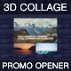 3d Collage — Promo Opener - VideoHive Item for Sale
