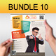 Creative Multipurpose Flyers Bundle 10 - GraphicRiver Item for Sale