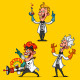 Set of Cheerful Scientists - GraphicRiver Item for Sale