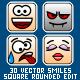 30 Square Smiles - GraphicRiver Item for Sale