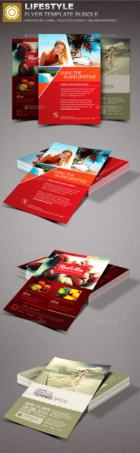 Fruit Flyer Graphics, Designs & Templates from GraphicRiver