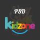 Kidzone - Primary School For Children PSD - ThemeForest Item for Sale