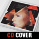 DJ Music Triangle CD Cover Template - GraphicRiver Item for Sale