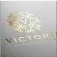 Victoria - Boutique Hotel Spa Logo - GraphicRiver Item for Sale