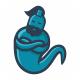 Blue Genie Logo - GraphicRiver Item for Sale