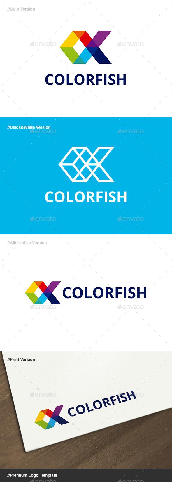 Color Fish Logo