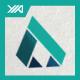 A Logo - Up Apparel Brand - GraphicRiver Item for Sale