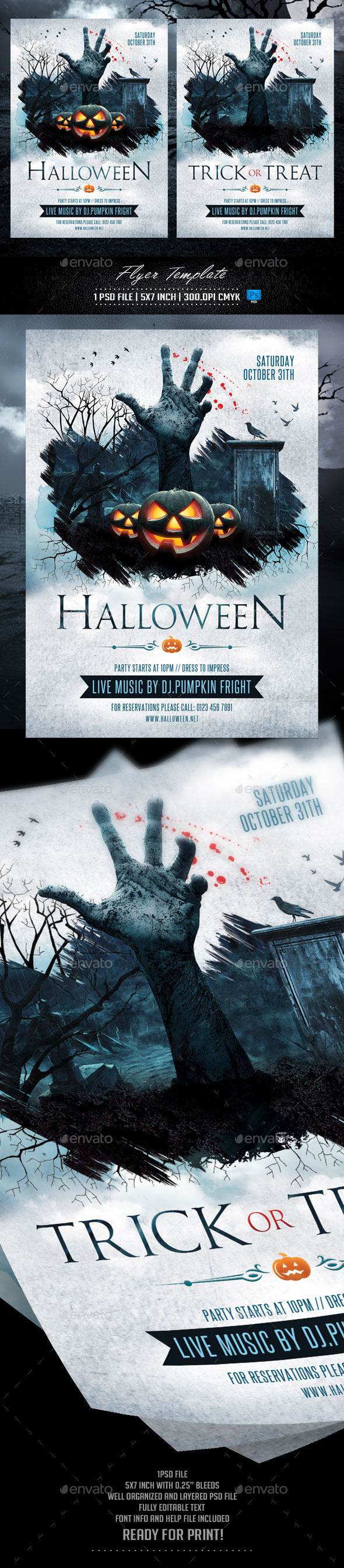 Spooky Graphics, Designs & Templates from GraphicRiver