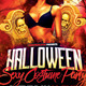 Sexy Halloween Costume Party Flyer Template - GraphicRiver Item for Sale
