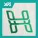 H Logo - Eco Green Property - GraphicRiver Item for Sale