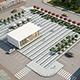 City Plaza Market Square Full Scene - 3DOcean Item for Sale