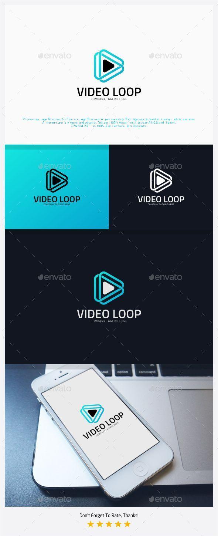Video Loop - Infinite Media Logo