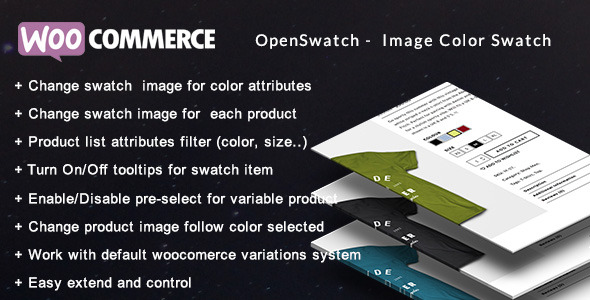 Openswatch - Woocommerce variations image swatch Download