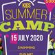 Kids Summer Camp Flyer V1 - GraphicRiver Item for Sale