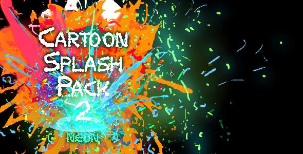 Cartoon Splash Pack 2