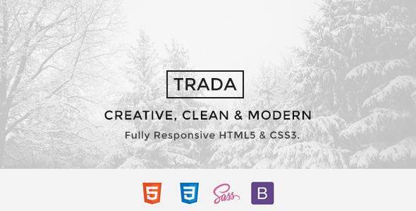 Trada - Creative Agency Multipurpose Template