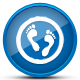 Green Feet Logo Design - GraphicRiver Item for Sale
