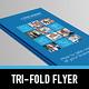 Metro Tri-fold Brochure - GraphicRiver Item for Sale