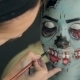 Halloween Face Art, Application Of Make-up - VideoHive Item for Sale
