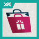 Pink Store - Girl Shoping Bag Logo - GraphicRiver Item for Sale