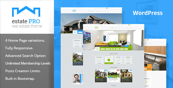 Estate Pro - Real Estate WordPress Theme