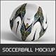 Football Ball Mockup - GraphicRiver Item for Sale