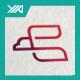 Bird Line - Air Travel Tour Logo - GraphicRiver Item for Sale