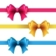 Set of Gift Bows with Ribbons - GraphicRiver Item for Sale