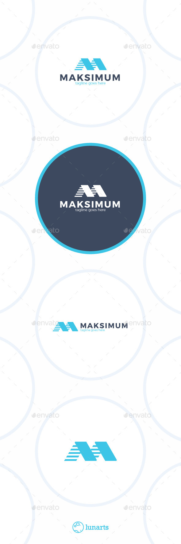 Maximum Letter M Logo