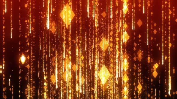 Golden Particle Rain