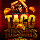 Taco Tuesdays Flyer  - GraphicRiver Item for Sale