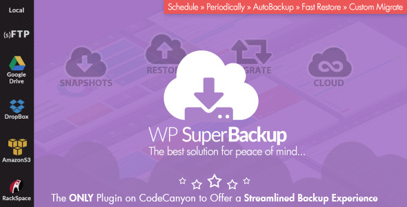 Super Backup & Clone – Migrate for WordPress, Gobase64