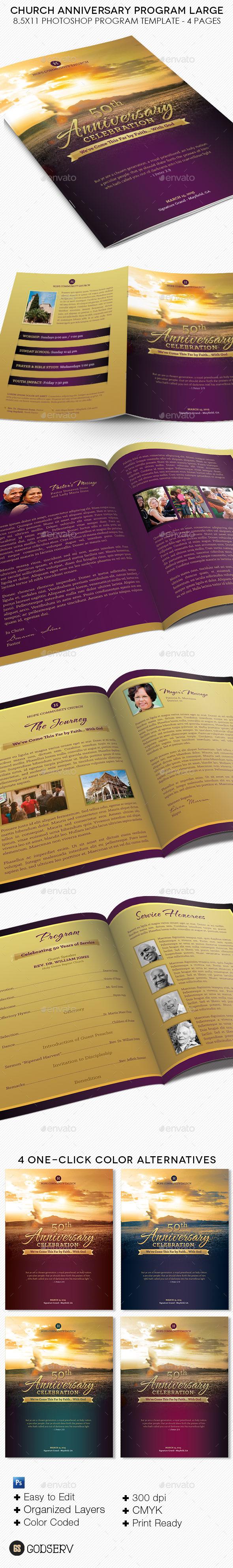 Church Program Templates Graphics Designs Templates