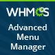 WHMCS Advanced Menu Manager - CodeCanyon Item for Sale