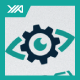 Gear Eye - Rapair Man Logo - GraphicRiver Item for Sale