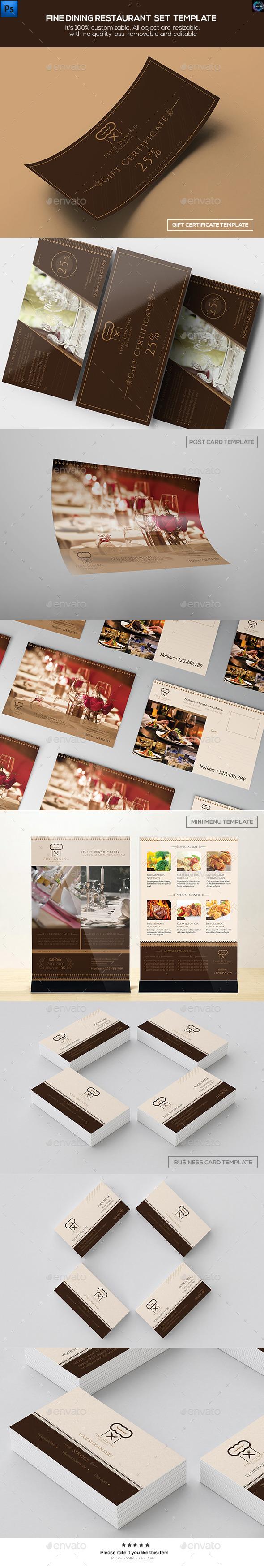 A5 Menu Graphics Designs Templates From Graphicriver