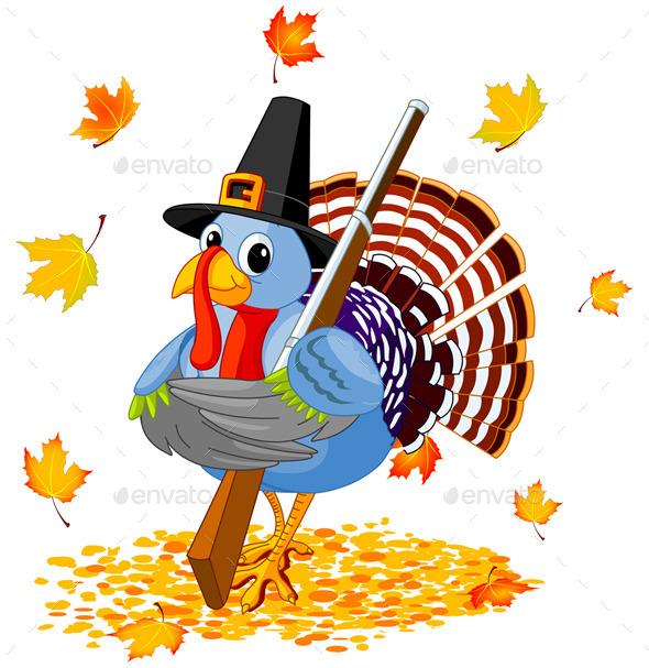 Pilgrim Turkey Hunter
