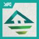 Top Eco House - Green Villa Logo - GraphicRiver Item for Sale