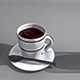 Coffe Cups and Glass Package - 3DOcean Item for Sale