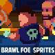 48x48 BRAWLER foes sprites  - GraphicRiver Item for Sale