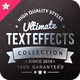 Ultimate Text Effect Collection - GraphicRiver Item for Sale