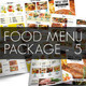 Food Menu Package 5 - GraphicRiver Item for Sale