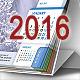 Desktop Calendar 2016 - GraphicRiver Item for Sale
