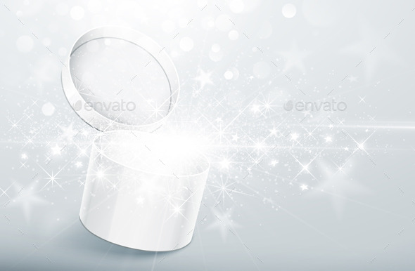 Christmas Silver Box