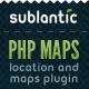 PHP Map + Location Plugin