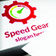 Speed Gear Logo - GraphicRiver Item for Sale