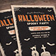 Halloween Spooky Party Flyer - GraphicRiver Item for Sale