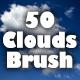 50 Pieces Dreamy Soft Clouds Photoshop Set - GraphicRiver Item for Sale
