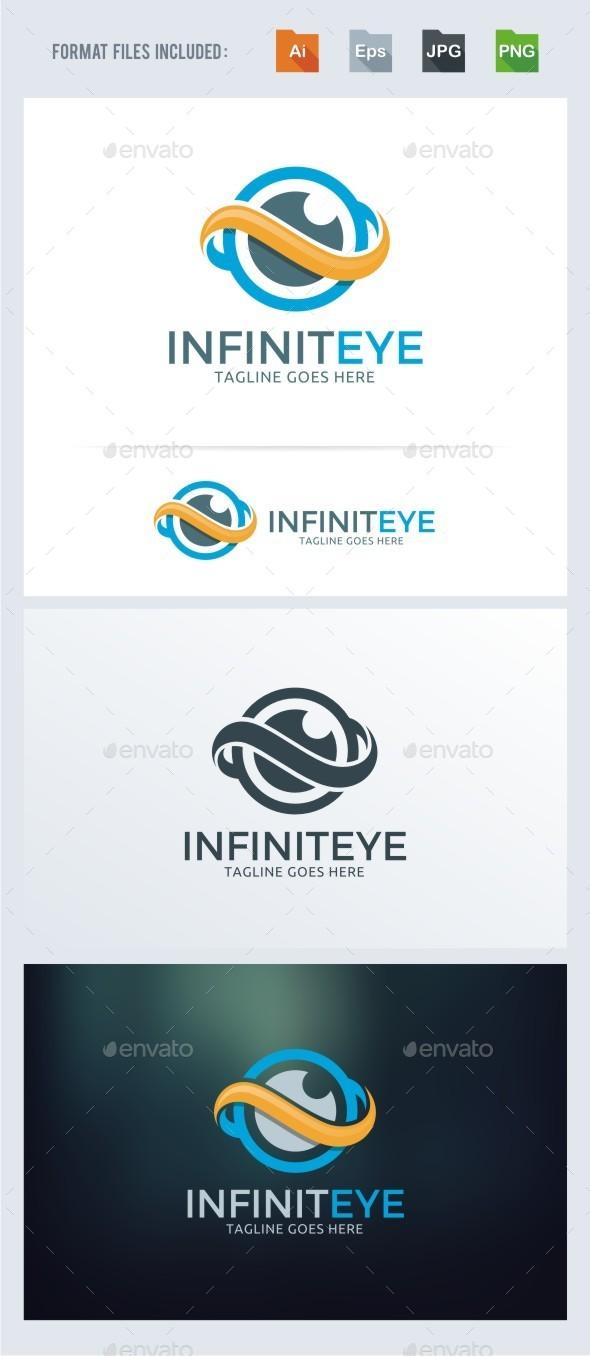 Infinity Eye Logo Template